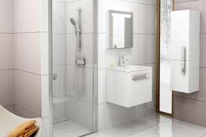 Душевая дверь RAVAK CSD1-80 satin+Transparent