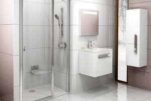 Душевая дверь RAVAK CSD2-110 white+Transparent