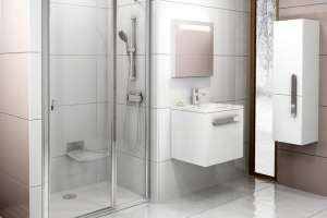 Душевая дверь RAVAK CSD2-100 bright alu+Transparent
