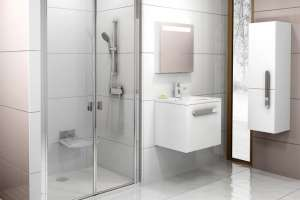 Душевая дверь RAVAK CSDL2-100 white+Transparent