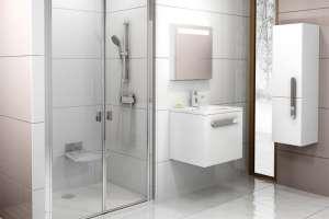 Душевая дверь RAVAK CSDL2-110 white+Transparent