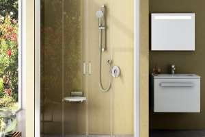 Душевая дверь  RAVAK NRDP4-120 сатин+transparent
